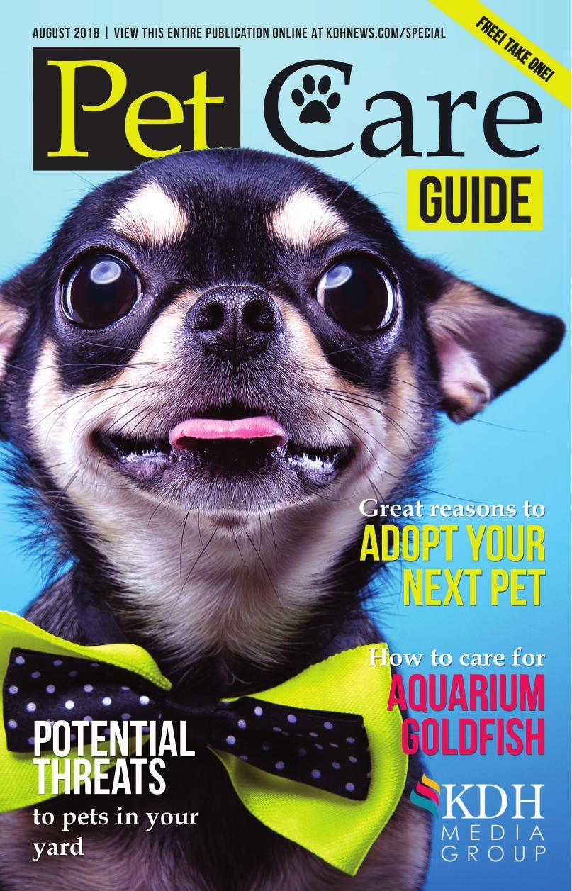 Pet Care Guide 2018