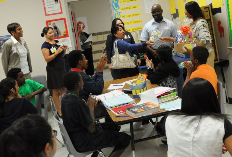 Walmart rewards Manor Middle teachers