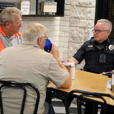 Police coffee event