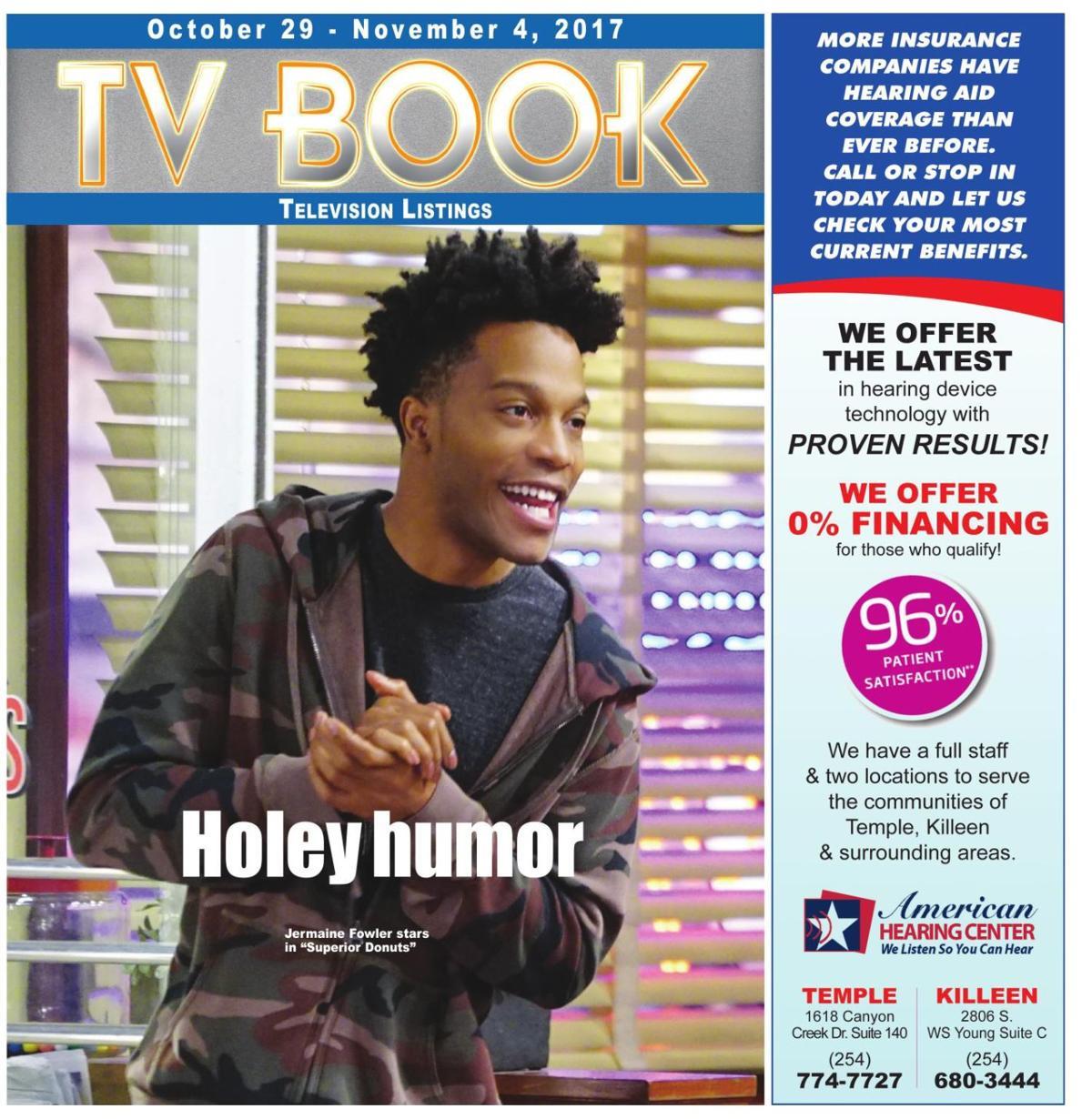 TV Book October 29th - November 4th