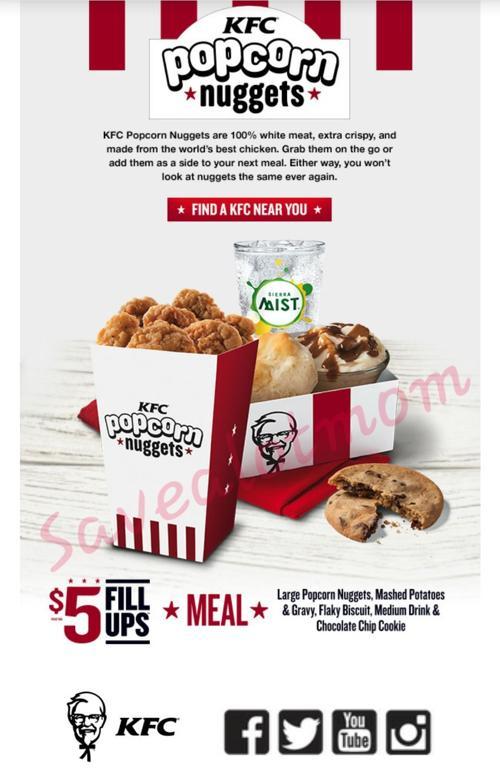 KFC $5 Meals!