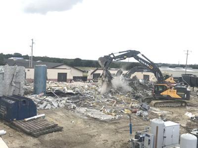 Gatesville explosion site