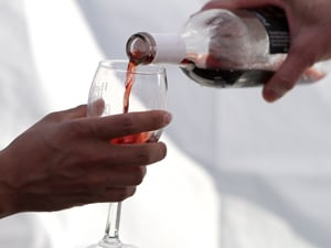 Wine festival offers hope to wine maker