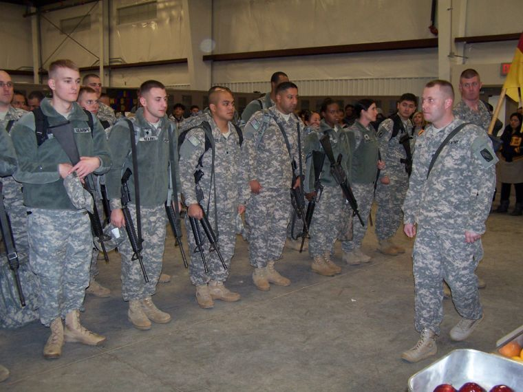 69th ADA troops deploy
