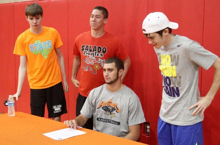 Salado Basketball Signing