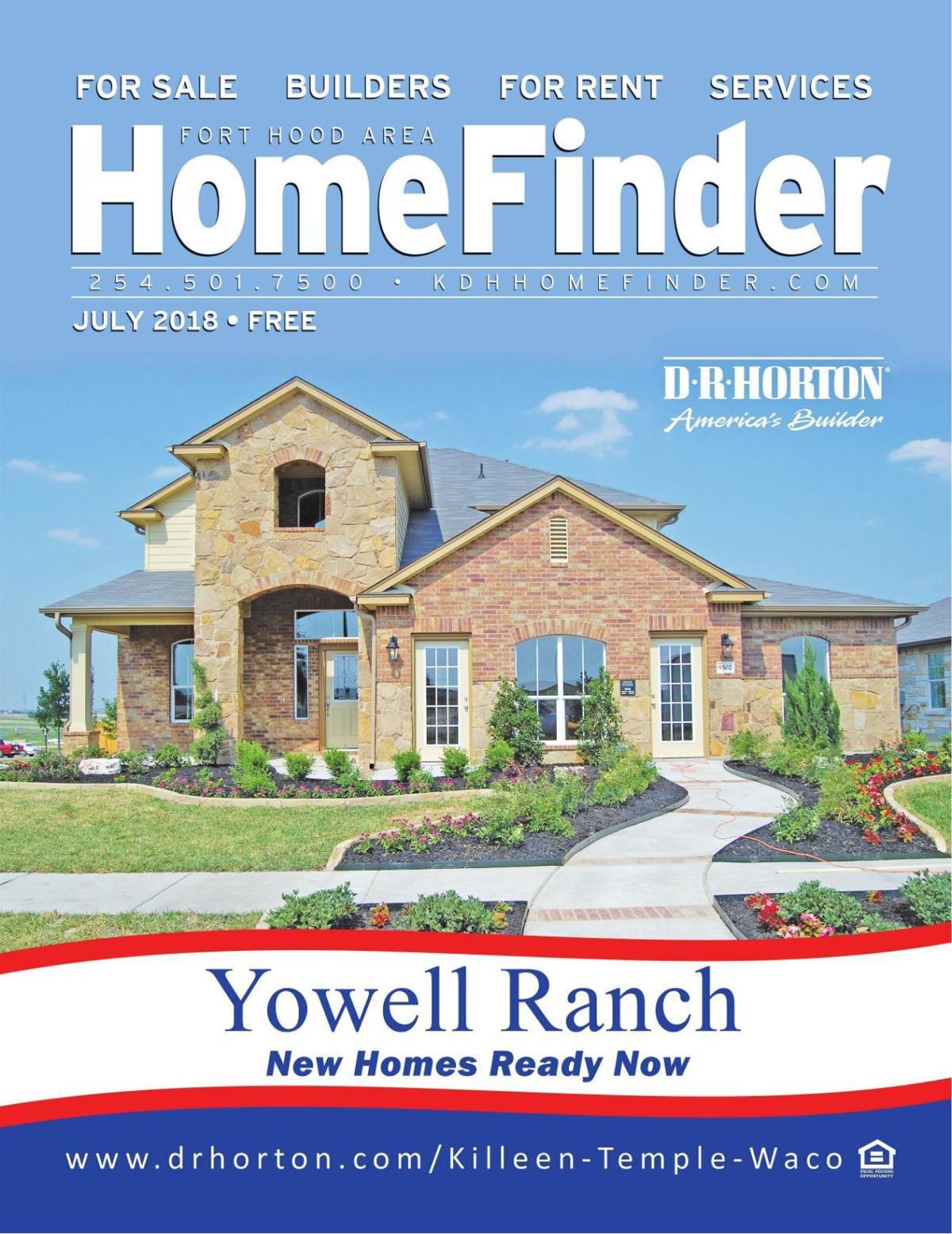 July 2018 Homefinder