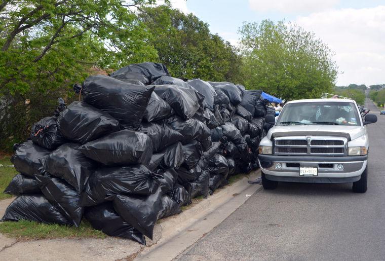 Mountain of trash