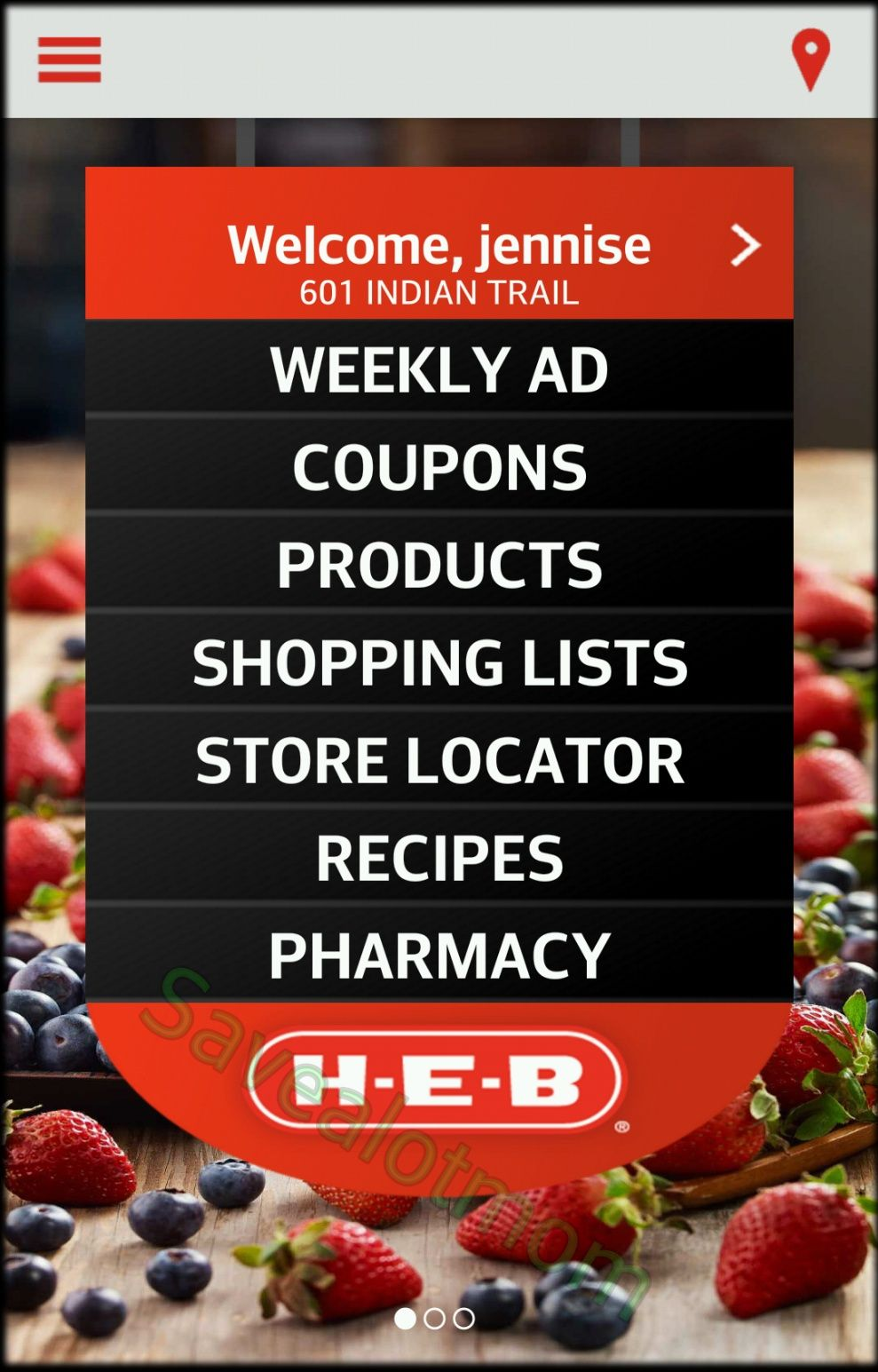 Heb digital coupons login