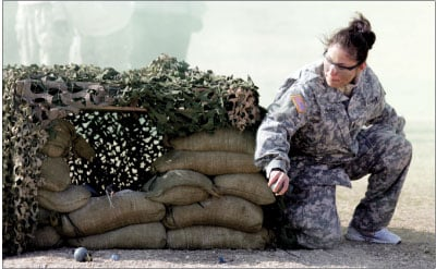 1st Cavalry spouses spend day in soldiers' shoes