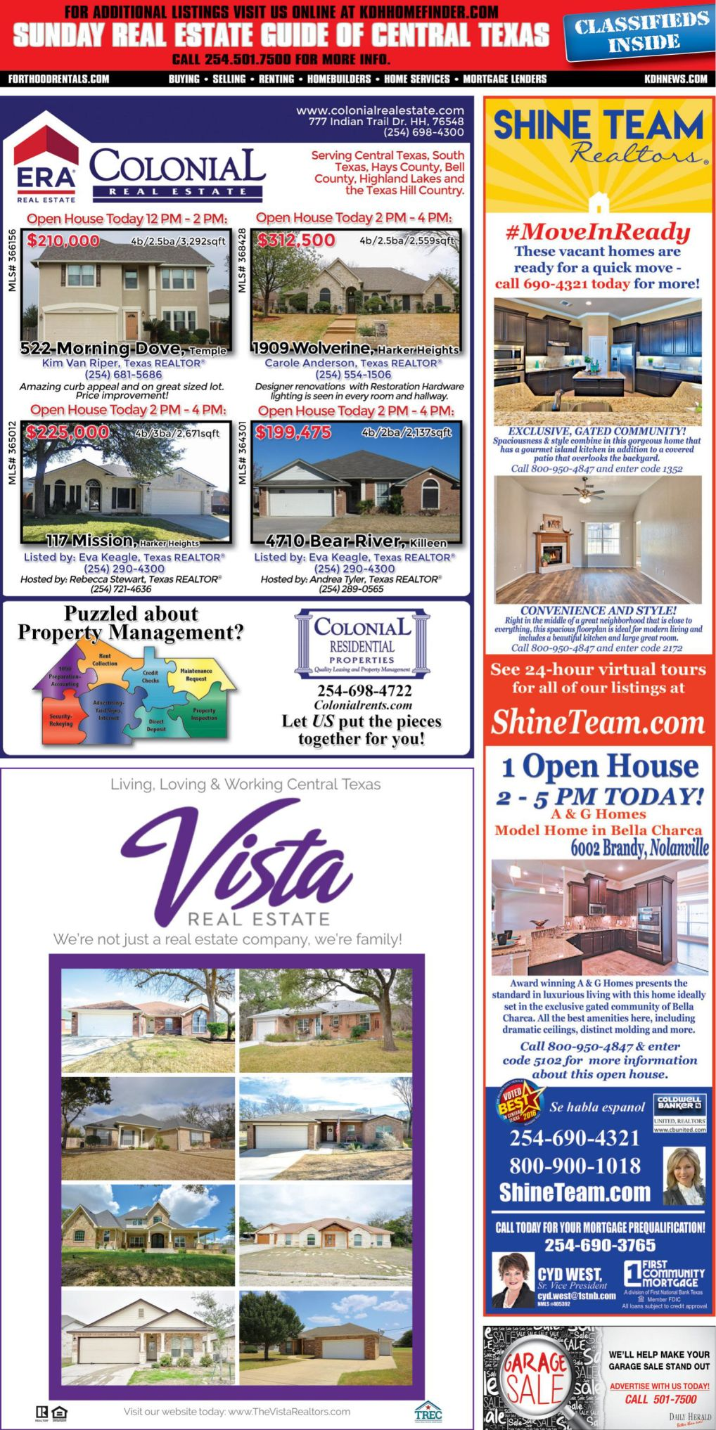 Sunday Real Estate Guide March 3rd