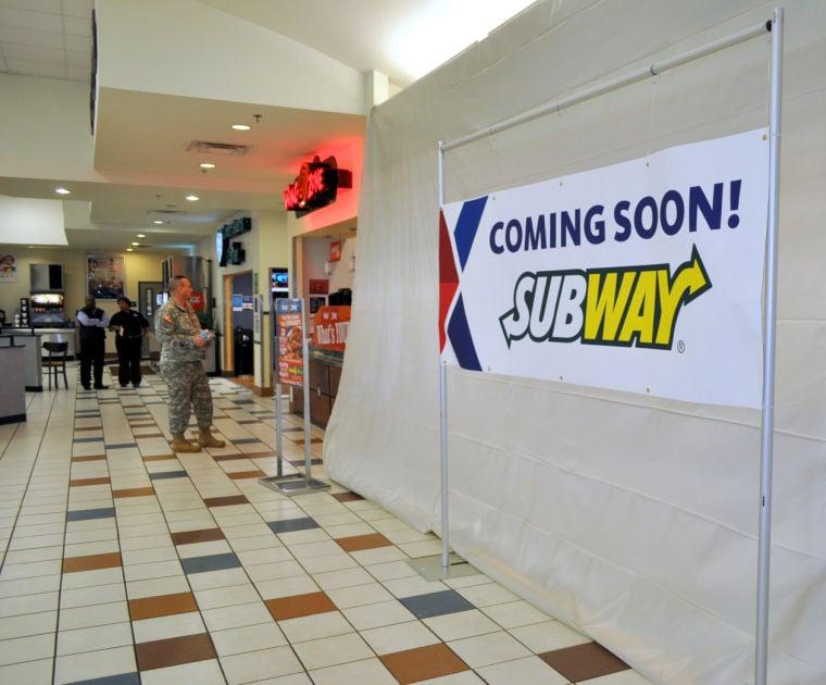 Subway at Fort Hood