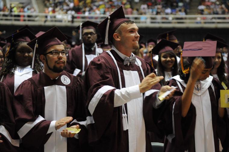 Killeen HS graduation 2014