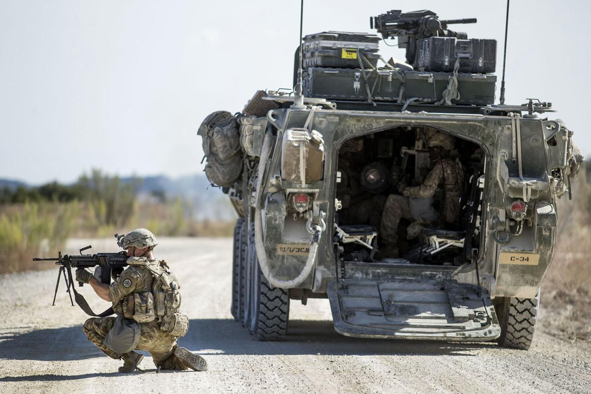 Stryker - Fort Hood Training