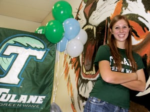 Belton's Weaver makes waves, signs with Tulane