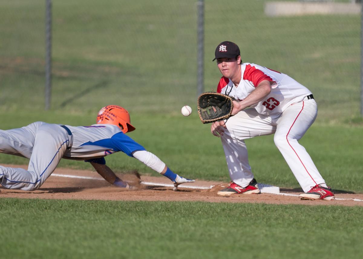 San Angelo Central at Harker Heights Baseball
