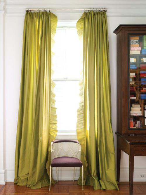 Curtain tips