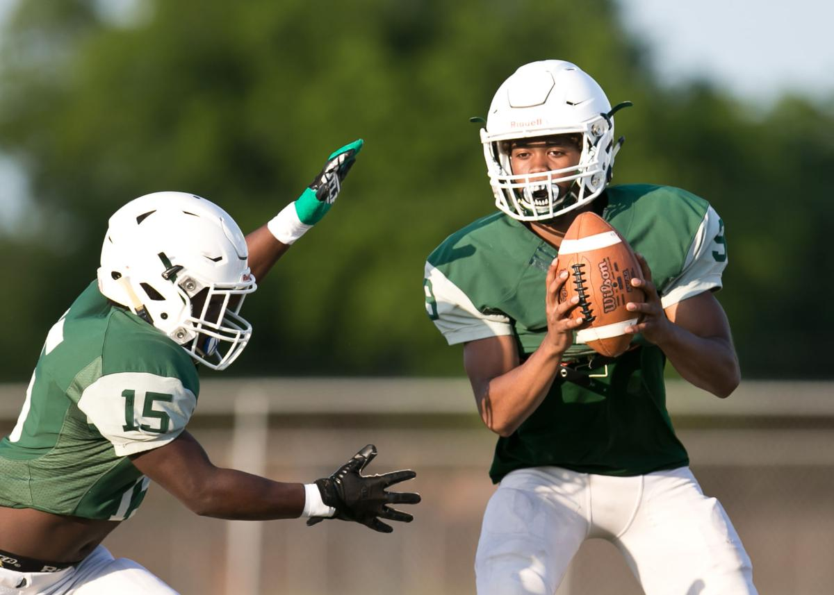 Ellison Green and White Football Game