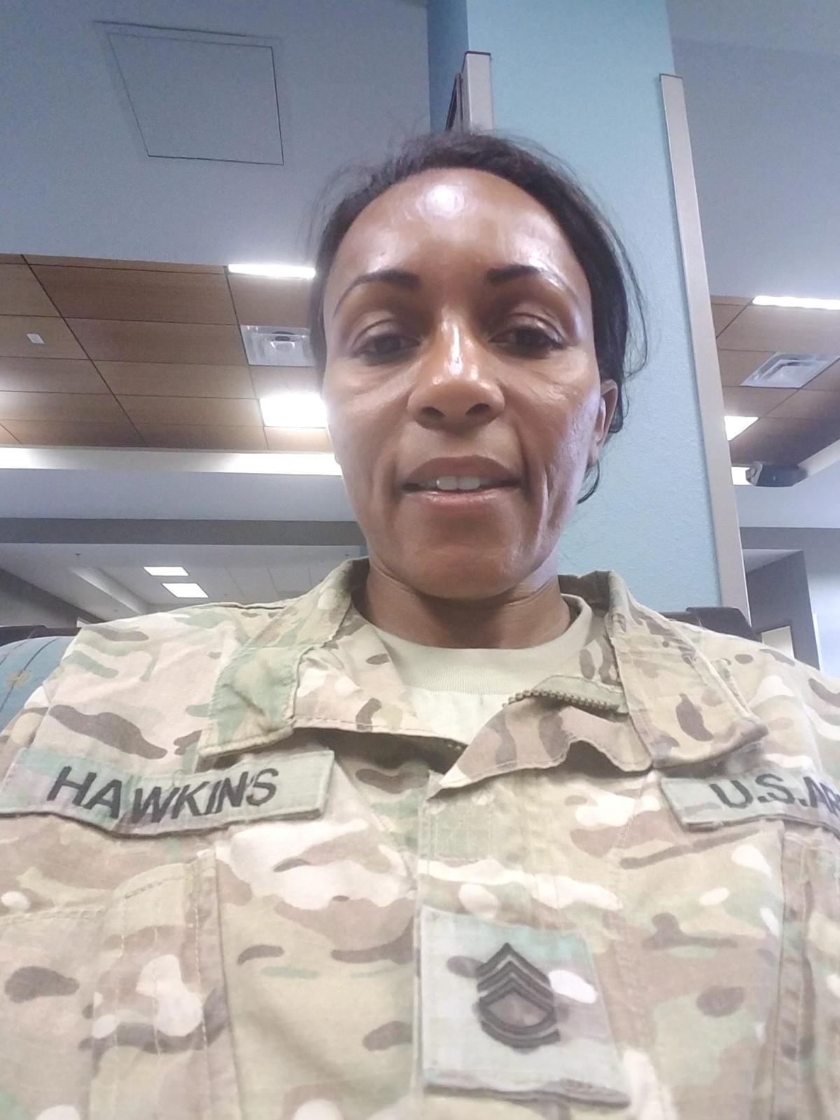 Sgt. 1st Class Caroline Hawkins Blaze
