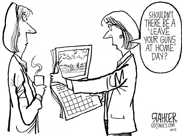 Concealed carry cartoon