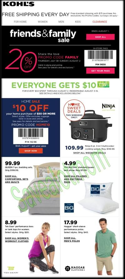 Kohl's Coupons!