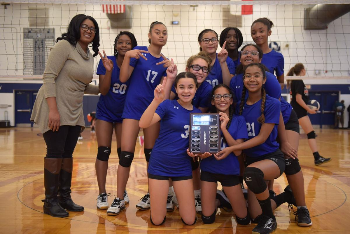 Seventh-grade volleyball champs