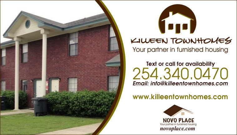 Furnished Apartments Killeen 254-340-0470 Killeen Townhomes