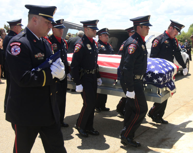 "Killeen police officer Robert ""Bobby"" Hornsby funeral"