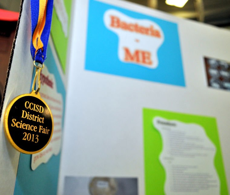 Cove ISD science fair 2013