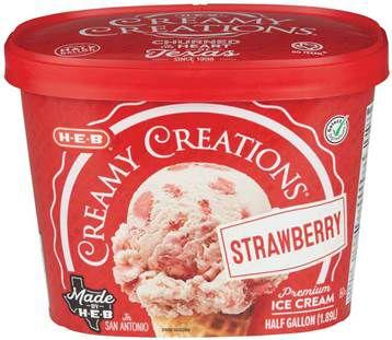 Ice cream HEB