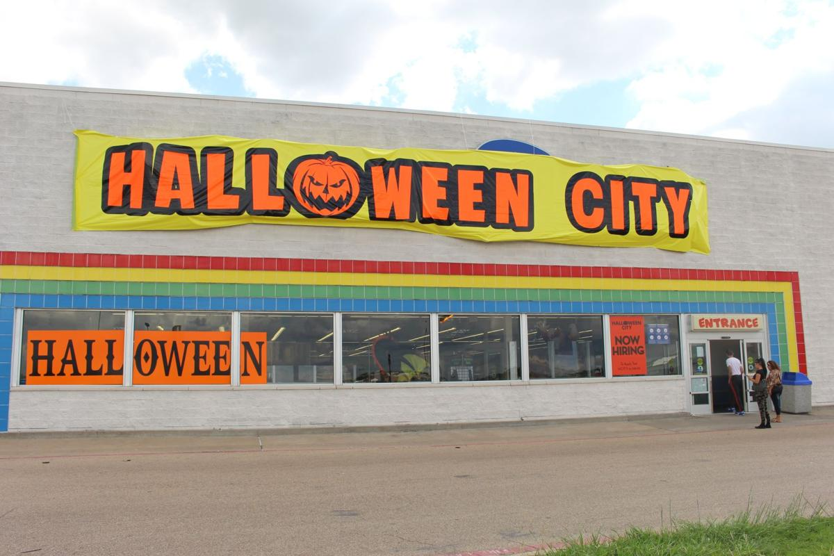 fall season kicks off with opening of halloween stores in central