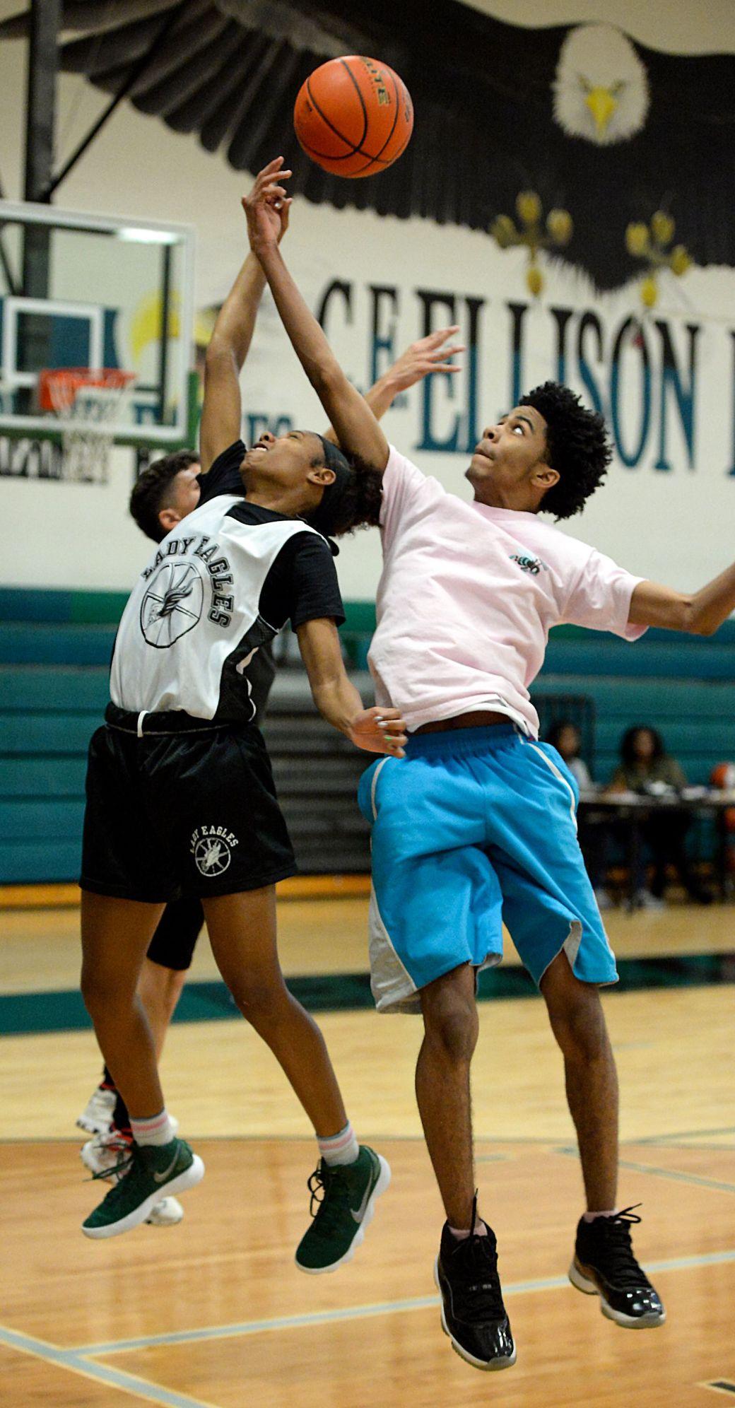 Ellison Girls Basketball Practice