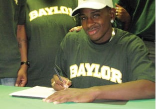 Heights' Chris High signs with Baylor