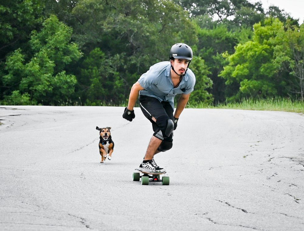 Longboard racers converge on Temple park for downhill event
