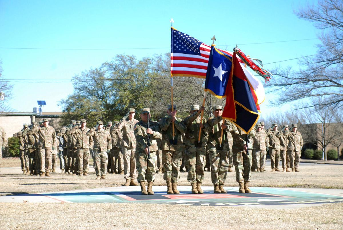 Texas Army National Guard & 36th Infantry Division prepare for deployment to Afghanistan for their second rotation in support of Operation Freedom's Sentinel at Division West on Saturday, January 28, 2017