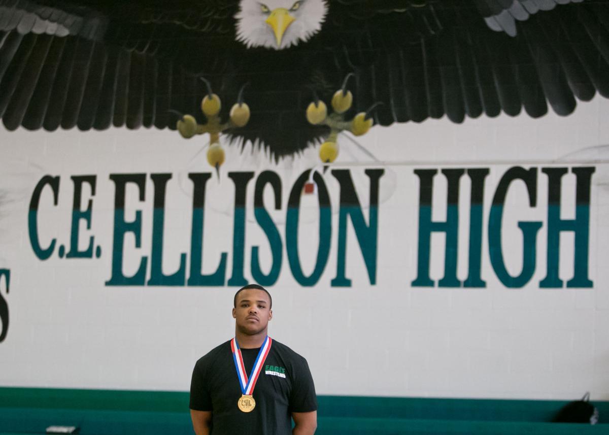 Ellison's Isiah Brown State Champion Wrestler