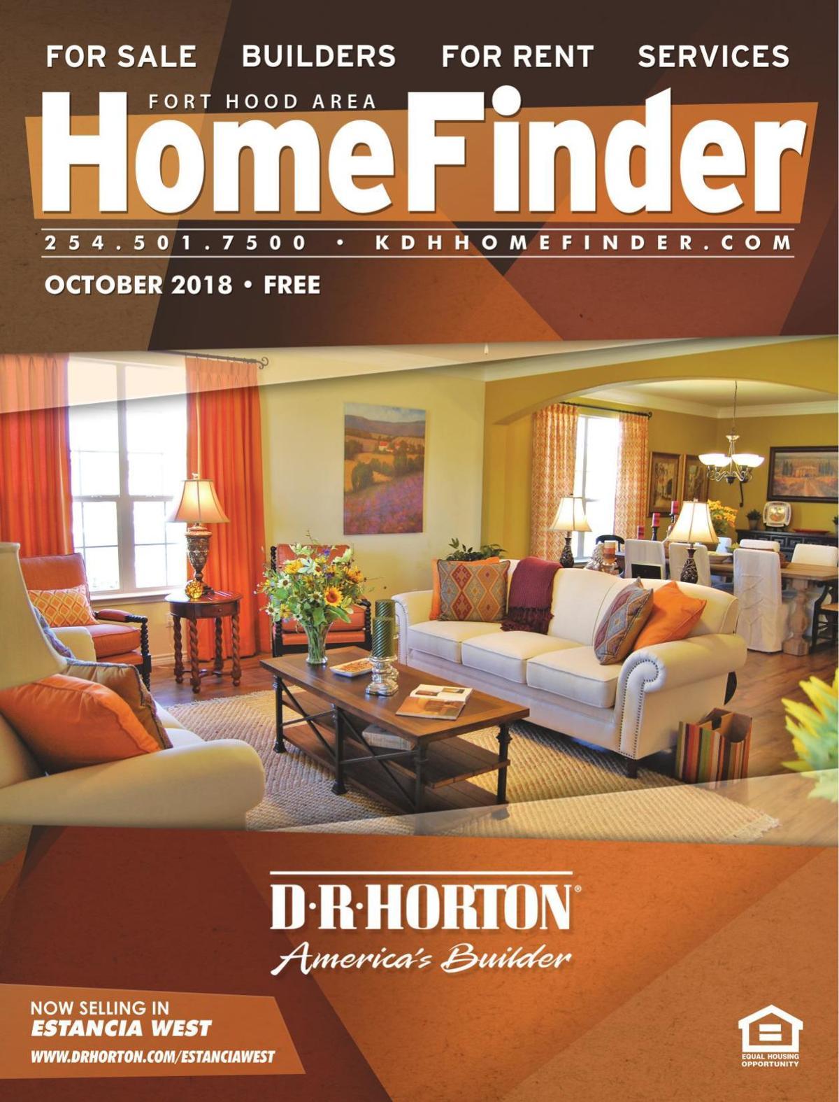 Homefinder October 2018