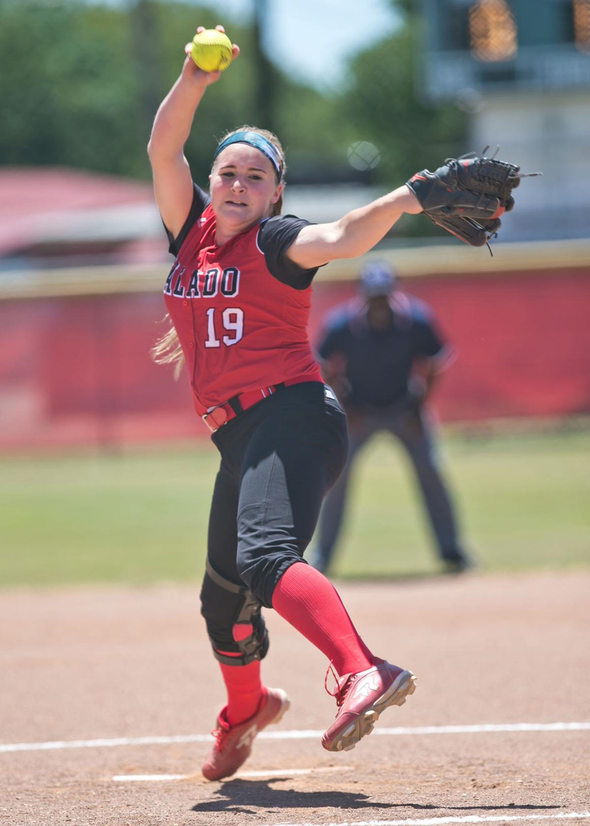Hillsboro at Salado Softball Games2/3 Area Round