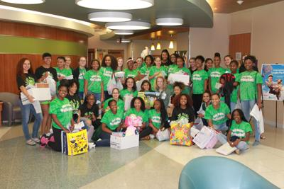 Ellison Volleyball Donation