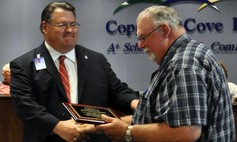 Kenneth Barnett honored