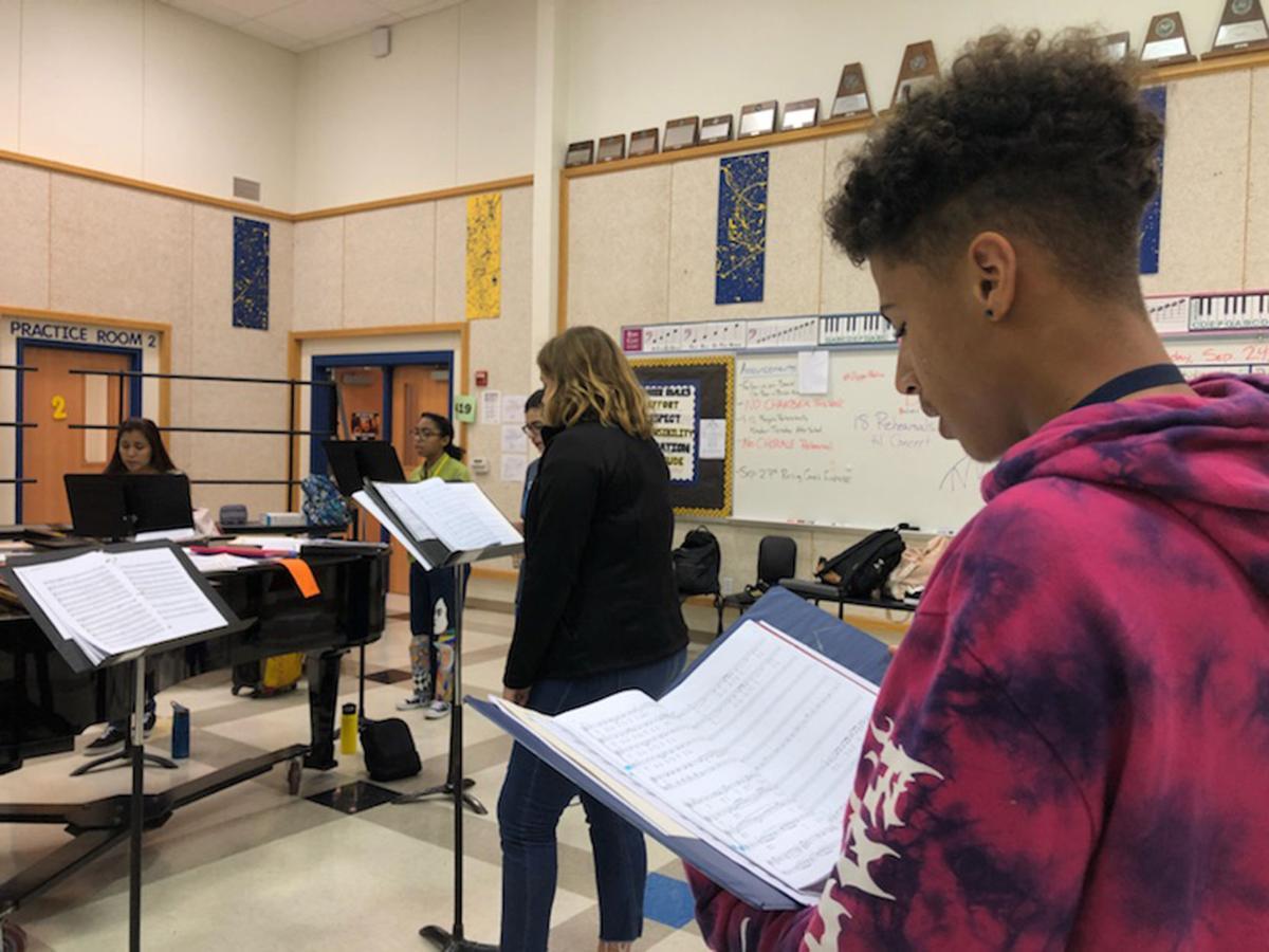 Copperas Cove High School choir