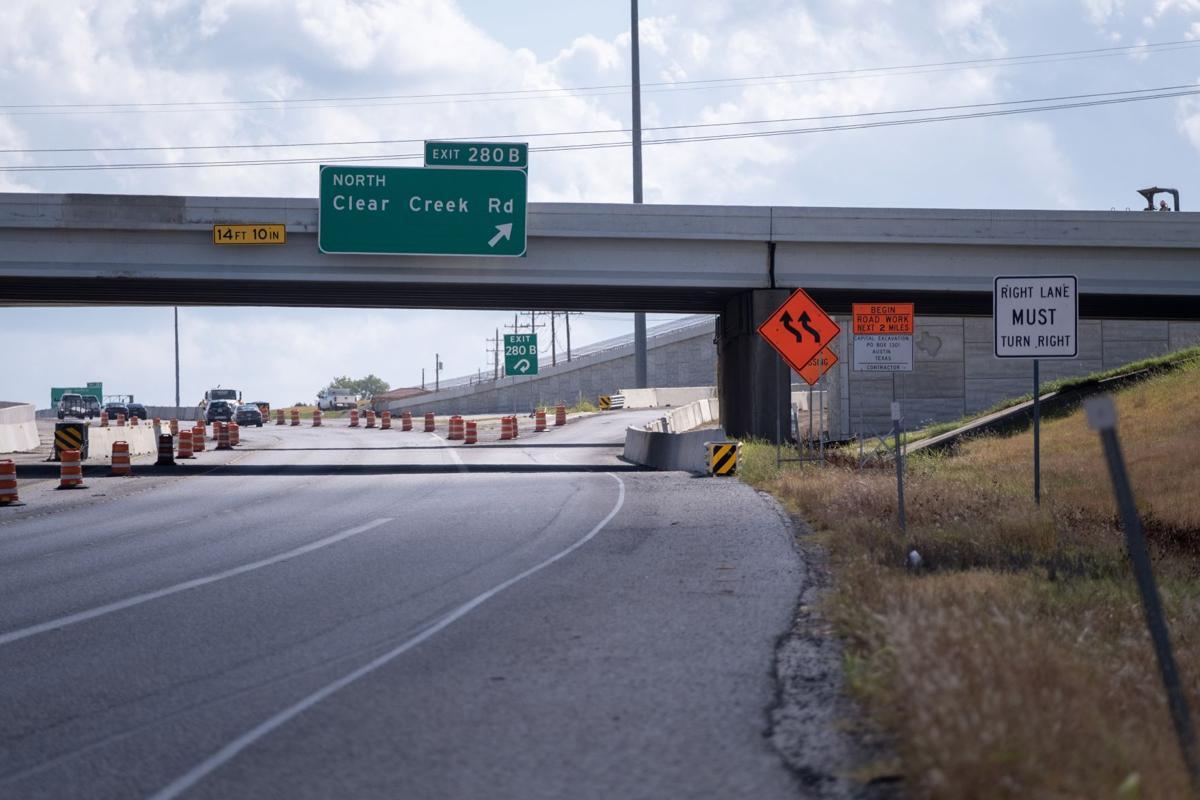 I-14 280B Exit Closure