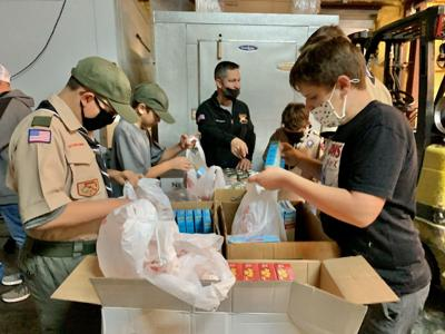 Meals to be distributed to military families Tuesday