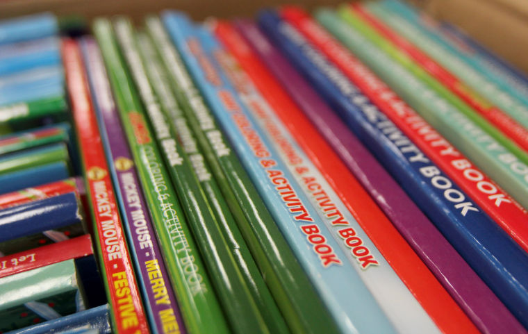Coloring Book Donation