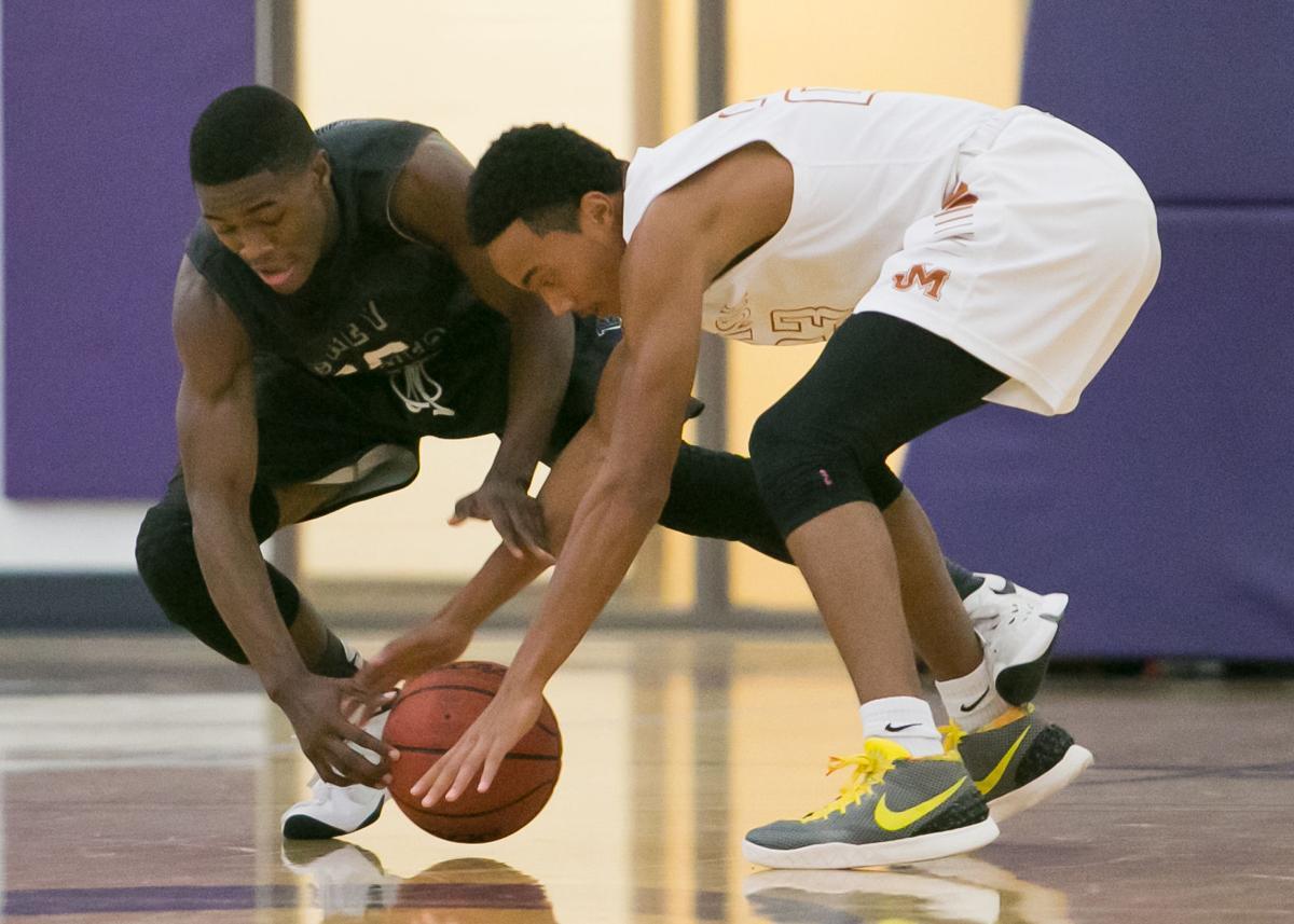 Shoemaker vs. Madison Boys Basketball
