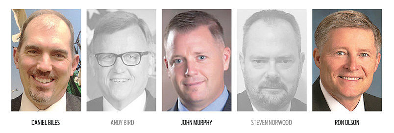 City manager candidates