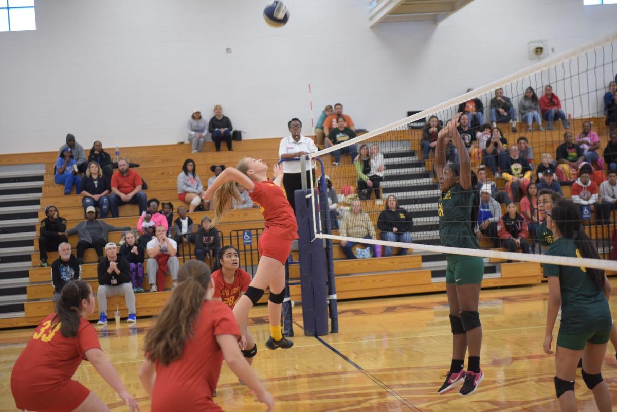 Eighth-grade volleyball