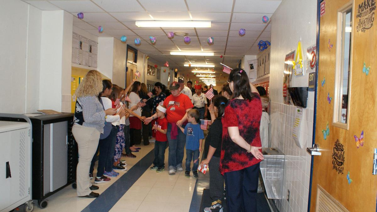 Fairview/Miss Jewel students honor vets