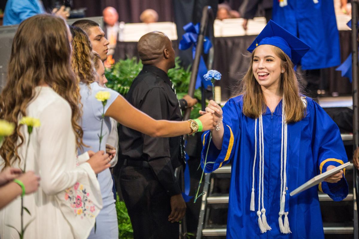 Cove HS graduation