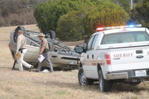 1 injured in single vehicle rollover