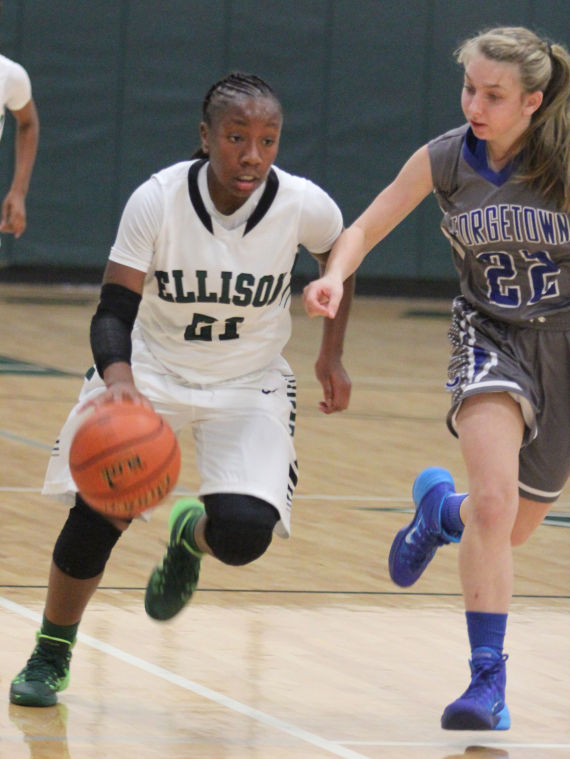 Ellison vs Georgetown Girl's Basketball